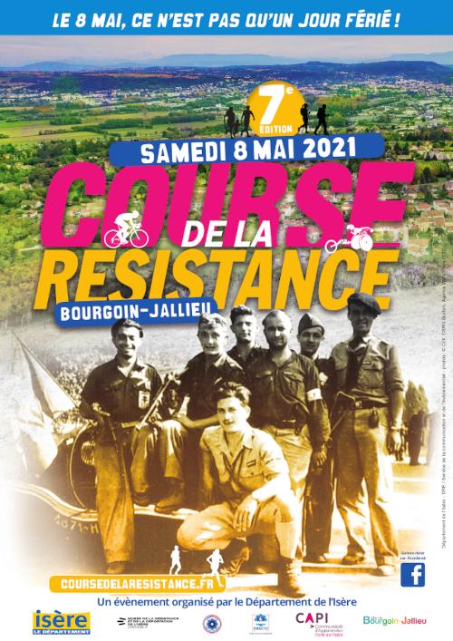Affiche Course de la Résistance 2021