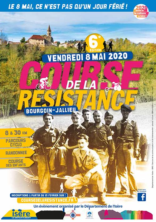 Affiche Cours de la Résistance 2020